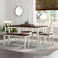 patridge 6 piece solid wood dining set