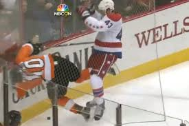 schenn flyers suspension caps rookie tom wilson will likely be suspended for this brutal hit