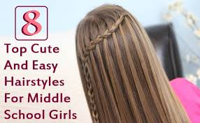 cute hairstyles for round faces top 8 cute and easy hairstyles for middle s