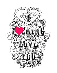 We Love You Coloring Pages At Getcoloringscom Free Printable