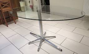 oval glass dining table. image of: popular oval glass dining table