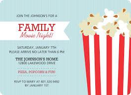 Family Movie Night Flyer Ktunesound