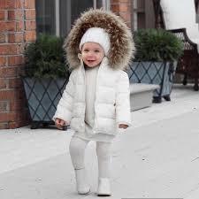 Trendy Kids Fur Coats Baby Boy <b>Girl Warm Faux</b> Fur Hooded Long ...