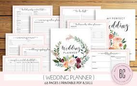 Printable Wedding Planner Wedding Planner Printable Wedding Planning Book Printable Wedding Planner Wedding Binder Template Engagement Gift Ideas Pdf Download