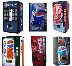 Pepsi Can Vending Machine