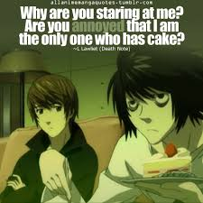 L From Death Note Quotes. QuotesGram