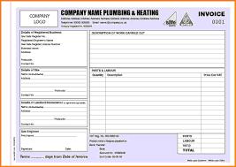 Free Plumbing Invoice Template Plumbing Receipt Template Invoice Sample Samples Of Invoices Free 18