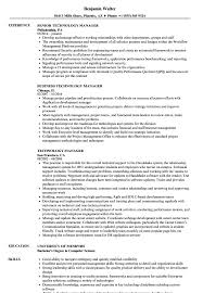 Sample Technology Manager Resume Technology Manager Resume Samples Velvet Jobs 19