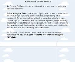 tips for writing a personal narrative ppt video online  narrative essay topics