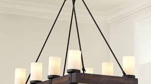 attractive ideas arturo 8 light rectangular chandelier ballard designs