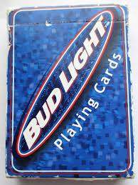 Bud Light Cards Bud Light Playing Cards Uspc Amazon Com Books