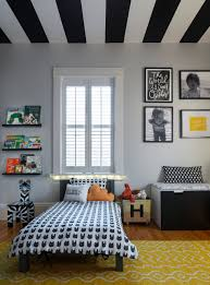 Modern Boy Bedroom Graphic And Modern Toddler Boy Room Striped Ceiling Boy Rooms