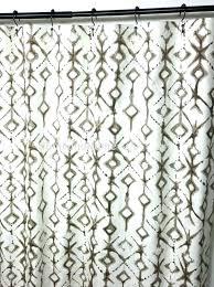custom sized shower curtains image 0 custom fabric shower curtains size curtain tribal custom made shower