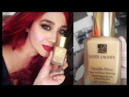 estee lauder double wear light makeup tutorial the world of make up ings