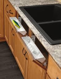 Under Kitchen Sink Organizer Drawer Sponge Soap Storage Front Tray