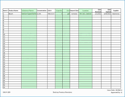Free Retail Inventory Template Excel Spreadsheet Small