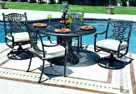 cast aluminum outdoor dining set 4 person outdoor dining set cast aluminum outdoor dining set cast