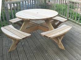 round wooden picnic bench 28 images round wood picnic small round outdoor wooden picnic table