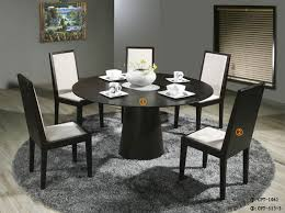 black dining room set round. Full Size Of Dining Room:modern Round Room Sets Fabulous Modern Black Set T