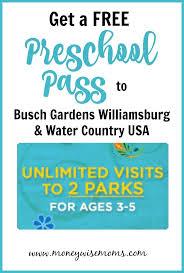 free admission to busch gardens sea world for prek kids teachers and active military 2018 busch gardens preschool pasore