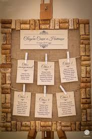 Seating Chart Wine Theme Wedding Tableau Matrimonio