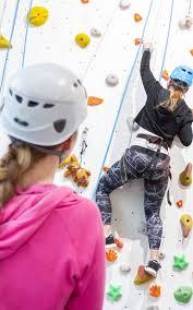 north wales indoor climbing wall