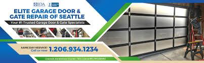 elite garage door gate repair of seattle washington main baner 206 934 1234