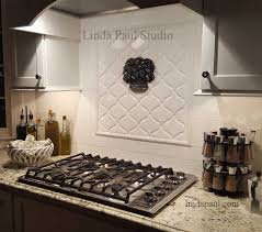 fruit basket kitchen back splash accent tile mural cool decorative tile inserts