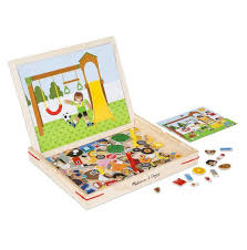 Melissa And Doug Wooden Games New Melissa Doug Wooden Magnetic Matching Picture Game Growing Up