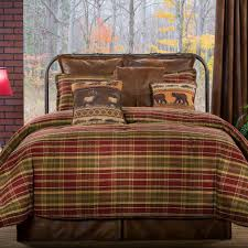 montana morning comforter set chocolate