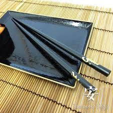 black kotobuki kanji chopsticks
