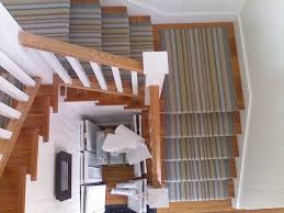 stipped stair runner carpet