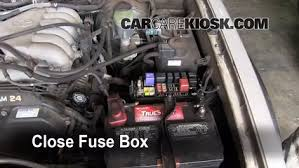 replace a fuse 1996 2002 toyota 4runner 1999 toyota 4runner 4runner fuse box location 6 replace cover secure the cover and test component