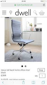 dwell nexus home office chair brown