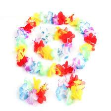 Shop <b>4Pcs</b>/<b>Set</b> Luau Tropical Hawaiian Wreath <b>Summer</b> Flower ...
