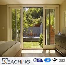Door Vinyl Design Hot Item Upvc Pvc Sliding Door Vinyl White Color Entrance Door For Resendital House
