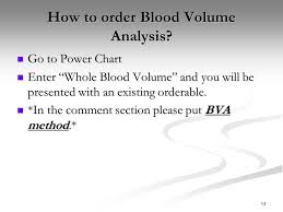 Blood Volume Chart 1 Blood Volume Analysis In Clinical Practice Chris Hirt