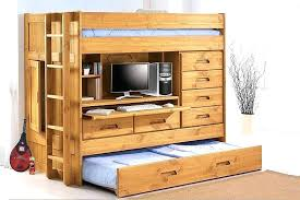 loft beds with desk and storage trundle bed desk loft bed with trundle storage bunk bed