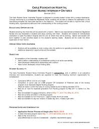 Resume Example For Nurses New Grad Nurse Cover Letter Example With