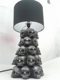 Skull Bedroom Decor Baby Skull Lamp Alb9000 Via Etsy I Think This Is The Coolest