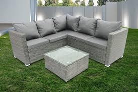 5 seater rattan corner sofa furniture