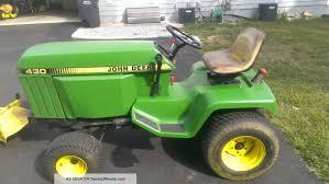 diesel garden tractor. John Deere 430 Diesel Lawn And Garden Tractor W/ 60in Mid - Mount Mower Deck