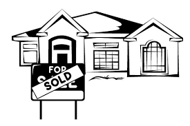Sold Sign In Front Of Home Svg Cut File By Creative Fabrica Crafts Creative Fabrica