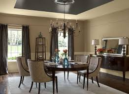 Two Tone Dining Room Photo Ahoustoncom - Dining room two tone paint ideas