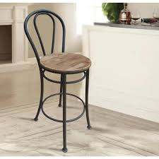 french cafe wood chairs. french cafe reclaimed wood bar chair (set of 2)-dmc-142 - the home depot chairs a