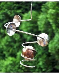 metal wind spinners galaxy orbiter hanging view 1 metal wind spinners costco