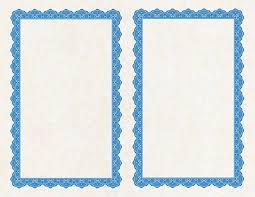 Copen Blue 2up Mini Printable Award Certificates 5 5x8 5 47857