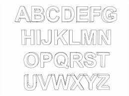 Small Picture Alphabet Letter Coloring Pages Coloring Pages Kids Printable