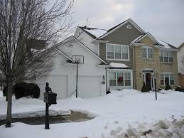 white wood garage door. Charming Home Exterior Design And Decoration With Cement Shingle Siding Ideas : Inspiring White Wood Garage Door W