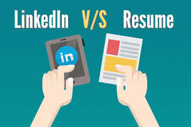 Linked In Resume LinkedIn Profile Vs Resume 100 Differences You Should Keep In Mind 83